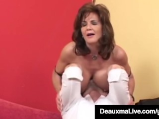 Super-naughty Housewife Deauxma Gets poked rectally & Gets nutted In the first place pornvideo